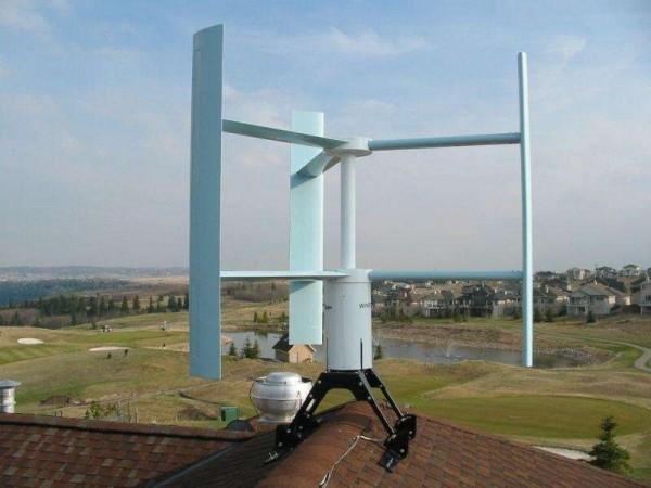 Ветряная электростанция для дома своими руками фото