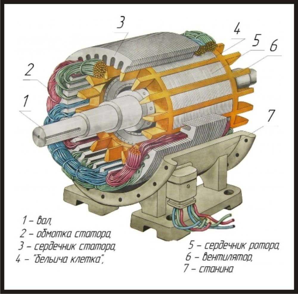 ел двигатель кд60 2 схема подключения