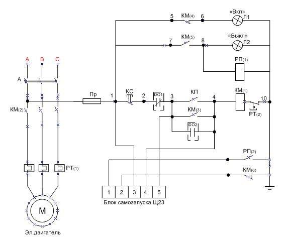 Все схемы подключения трехфазного электродвигателя