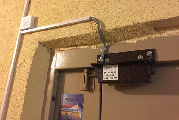 Купить электромагнитный замок на входную дверь